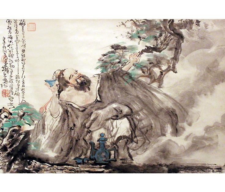 到才神府   乃许艺城老师中国人物画家 - 羊寿堂 - 感受艺术魅力 冬天很暖